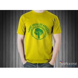 T-Shirt estampada (amarela)