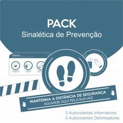 Pack Sinalética de Prevenção