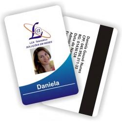 Cartão de PVC 85x55mm