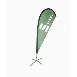 Bandeira Gota Reta M