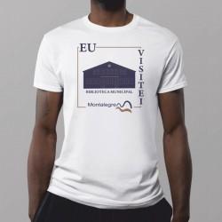 "T-shirt ""Eu Visitei"" Montalegre"