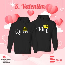 Camisola Queen & King