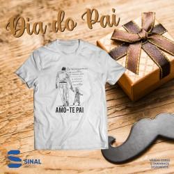 """T-shirt """"Amo-te Pai"""""""