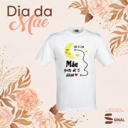 """T-shirt """"Daqui à Lua"""""""