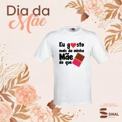 """T-shirt """"Gosto mais de ti"""""""