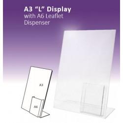 """A3 """"L"""" Display"""