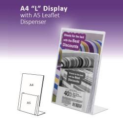 """A4 """"L"""" com A5 Display"""