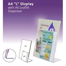 """A4 """" L"""" com A6 Display"""