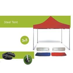 Economic Steel Tent 3X3