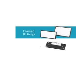 Crachá de Identificação Emoldurado - Framed Id badge