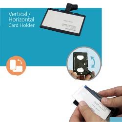 Crachá de Identificação VerticalHorizontal - VerticalHorizontal Card Holder