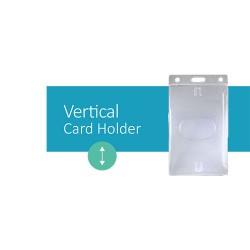 Crachá de Identificação Horizontal - Horizontal Card Holder