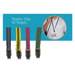 Plastic Clip ID Ropes