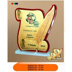 Troféu diploma 1